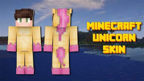 Minecraft Unicorn Onesie Skin