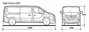 Dimension Opel Vivaro : kies uw bagagerek ~ Gottalentnigeria.com Avis de Voitures
