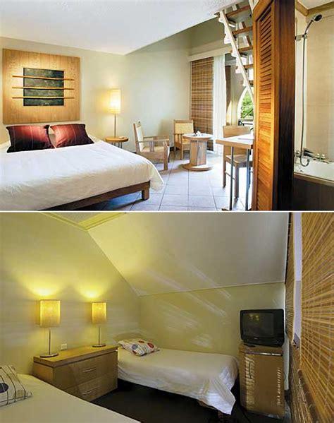 hotel chambre ile de hotel le canonnier beachcomber ile maurice côte nord