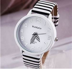 Womens Black & White Watches Under $5 Each & FREE Shipping