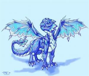 Ice Dragon by Jesseth on DeviantArt