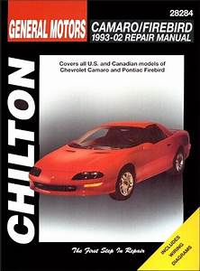 Camaro  Firebird 1993-02 Repair Manual