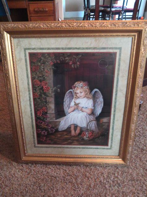 home interior pictures for sale home interior angel portrait in arey s garage sale brownwood tx