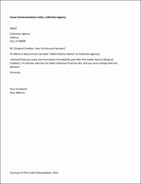 credit dispute letter template sampletemplatess