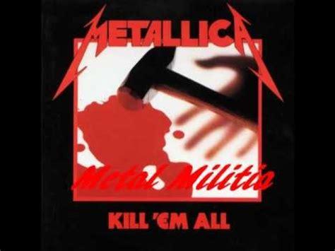metallica killem  full album youtube