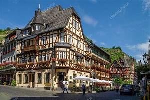Häuser In Deutschland : mittelalterliches dorf bacharach traditionelle frameworks fachwerk h user in stra en der ~ Eleganceandgraceweddings.com Haus und Dekorationen