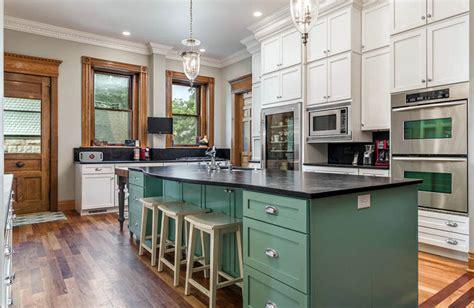 green kitchen cabinets design ideas designing idea