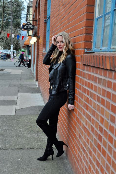 Leather Jacket Boots Confessions Of A Product Junkie