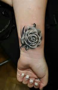 Rose Tattoo On Wrist