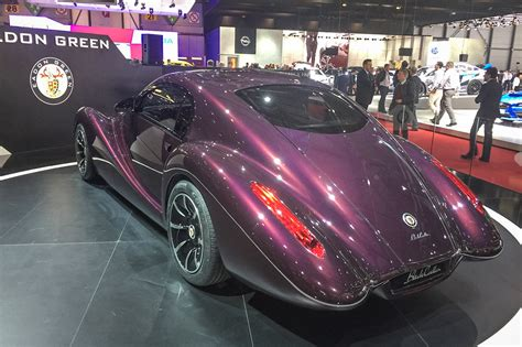 Eadon Green Black Cuillin V12 Sports Car Revealed Autocar