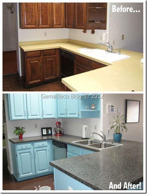 renovar cocina pintando muebles diy decoracion en
