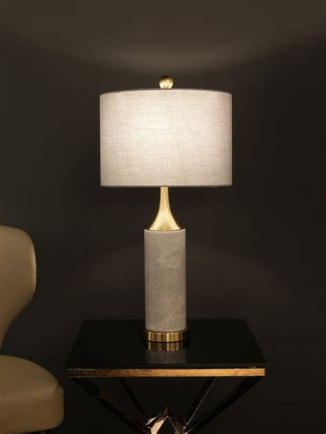 regina marble black table lamp buy luxury table lamps