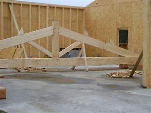 Bois De Charpente Point P : construction d 39 un b timent ossature bois dans les landes ~ Dailycaller-alerts.com Idées de Décoration