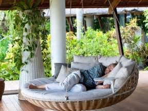Round Porch Bed Swings Outdoor
