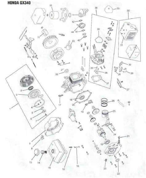 Honda Engine Parts Diagram Lawnmower Pros
