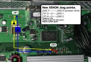 Diygaming Jtag Xbox Wiring The Mod Part