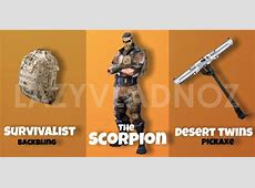 [Skin Concept] The Toxic, The Sand Lurker, The Scorpion