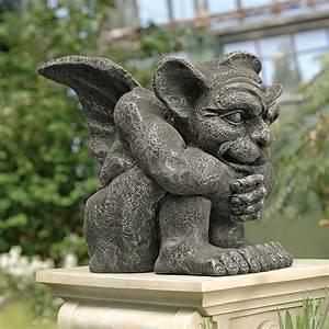 Design, Toscano, Emmett, The, Gargoyle, Garden, Statue