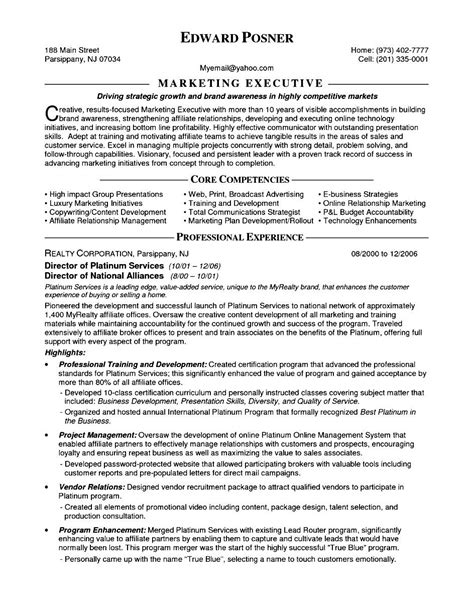 Resume For Marketing Executive Fresher  Free Samples