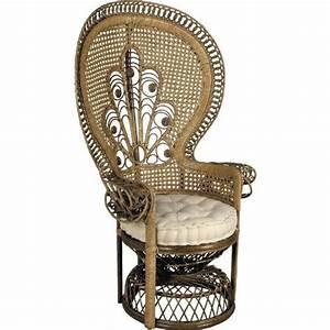 Fauteuil D Occasion : fauteuil emmanuelle rotin d occasion ~ Teatrodelosmanantiales.com Idées de Décoration