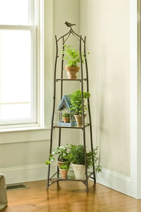 cool diy indoor plant shelves designs decorits