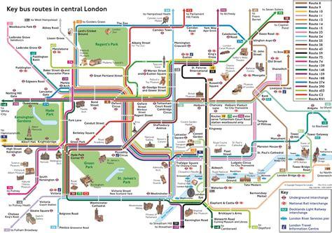 Carte De Pdf by Londres Plans Et Cartes De