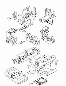 Singer 3820 Electronic Sewing Machine Parts