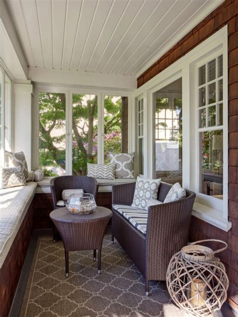 Sunroom Remodel Ideas by Small Sunroom Design Ideas Remodels Photos Houzz
