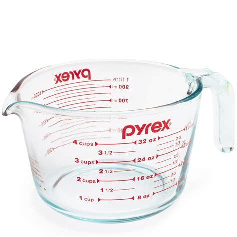 pyrex glass sur table cup catalog measuring