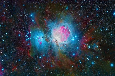 nebula space galaxy colorful  hd nature  wallpapers