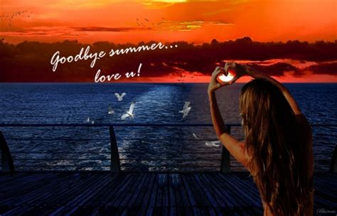 goodbye summer   cg abstract background