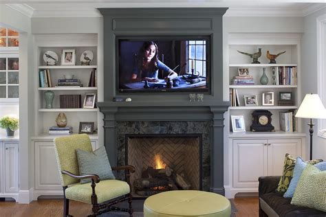 Fireplace niche decorating ideas living room contemporary with wall unit stark  rug neutral