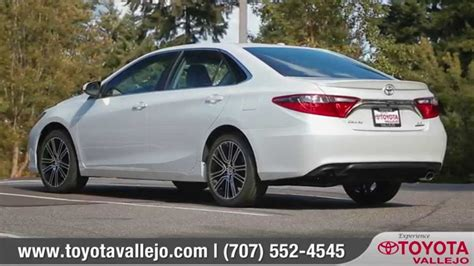 Toyota Of Vallejo by 2016 Toyota Camry Review Toyota Of Vallejo Toyota