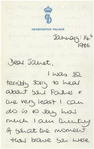 Norfolk Woman Sells Princess Diana Letters Latest