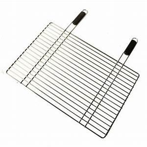 Grille Barbecue 60 X 40 : grille pour barbecue en acier chrom 40 x 60 cm outils ~ Dailycaller-alerts.com Idées de Décoration