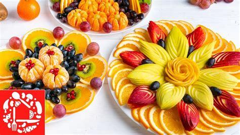 Нарезка фруктов которые есть всегда в магазинах. Красиво и просто