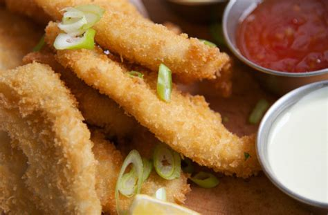 Chicken Goujons With White Breadcrumbs Recipe