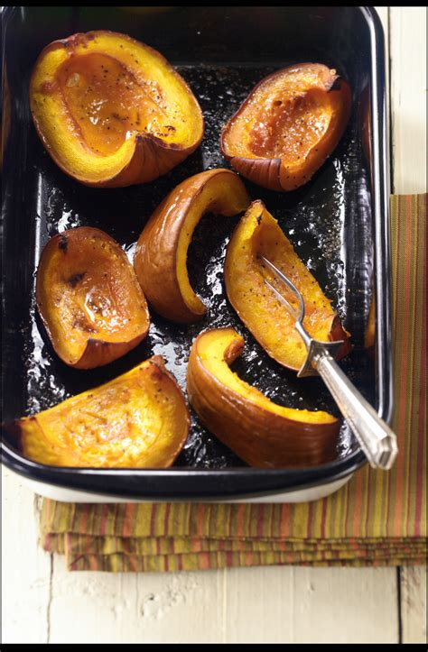 pumpkin roasted roast recipes recipe maple wedges relish fall vegetable syrup baked roasting spryliving pumpkins cooking favorite seeds