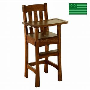 solid wood high chair amish » woodworktips