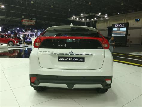 mitsubishi dubai 2018 mitsubishi eclipse cross at the dubai international