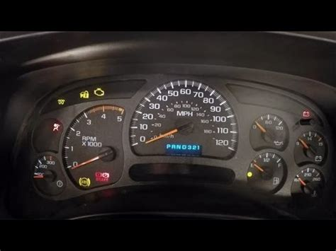 electronic throttle control 2000 chevrolet 3500 instrument cluster how to fix electronic issues in the instrument cluster of an 03 07 gm truck youtube