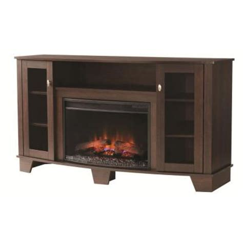 home depot electric fireplace home decorators collection grand 59 in media