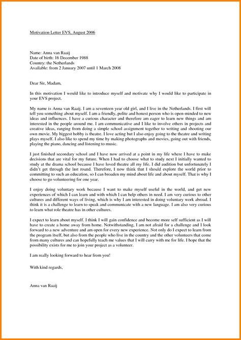 motivation letter  job  letters  sample