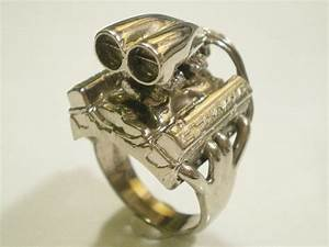 jewelry for the ultimate gearhead rings with your With gearhead wedding rings