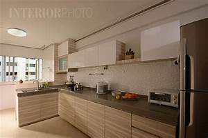 New 4 room hdb bto living room quotes for Kitchen design for hdb flat