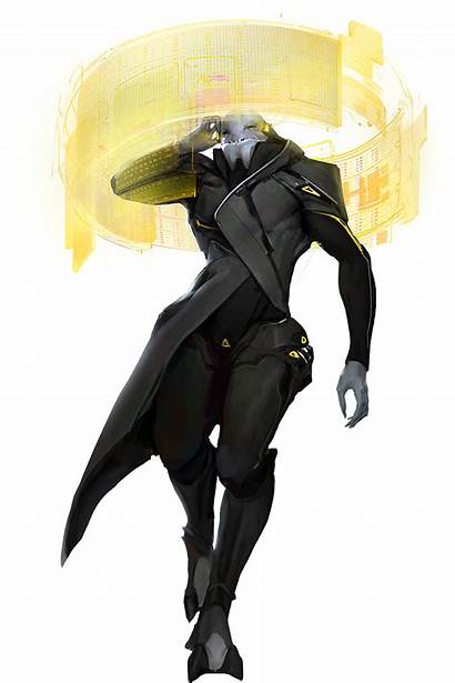 Concept Sci Alien Fi Soldier Rpg Character