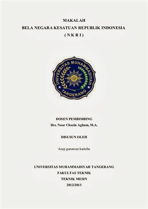 contoh cover makalah yang benar untuk sma mahasiswa