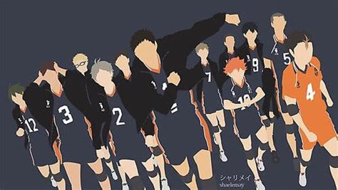 karasuno haikyuu haikyuu anime anime canvas wallpaper