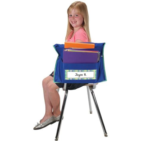 store more dual storage pocket chair pockets navy