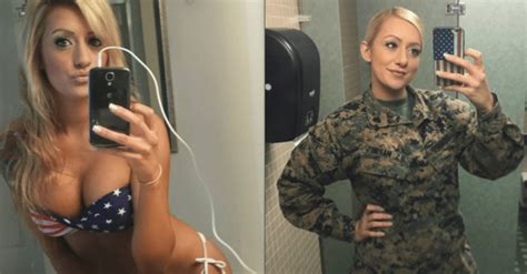 meet combat barbie the sexy marine who s firing up instagram maxim
